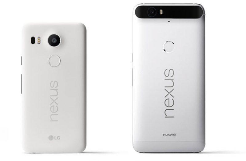 Google anunciou os novos Nexus 6P e 5X