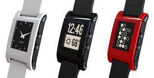Vendas dos relógios inteligentes da Pebble aumentaram