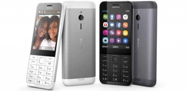 Nokia 230 de baixo custo foi lançado