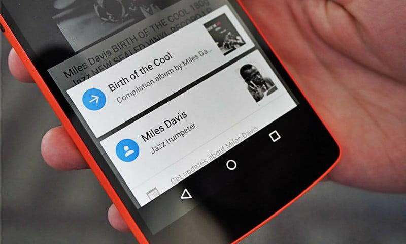 Google Now on Tap ganha Recurso de Reconhecimento Óptico