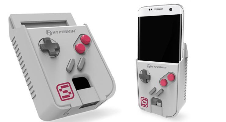 Hyperkin SmartBoy – Acessório transforma Celular em Gameboy