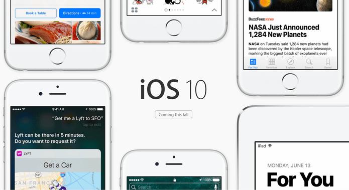 Novo iOS 10 pode permitir a Exclusão de Apps Nativos