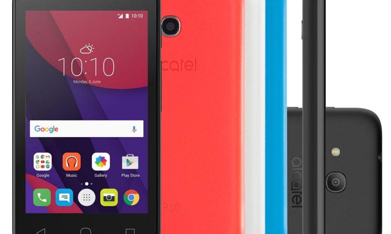 Alcatel Pixi 4 Colors – Configurações do modelo