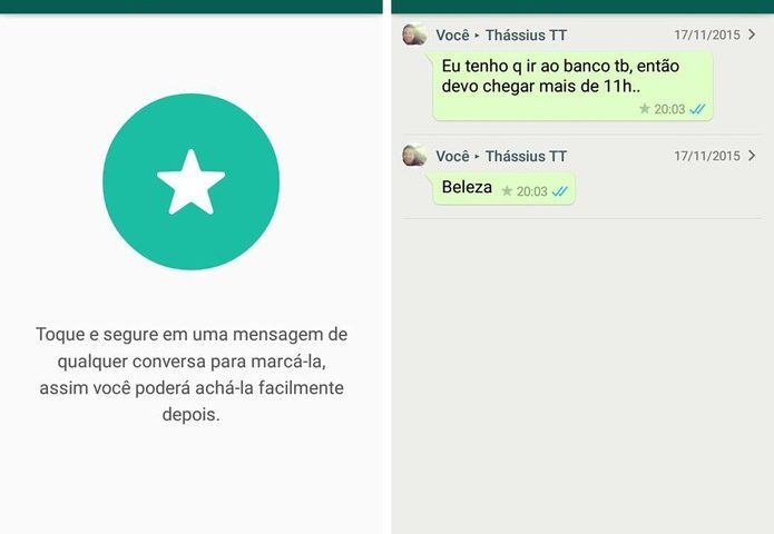 Como organizar as mensagens do WhatsApp